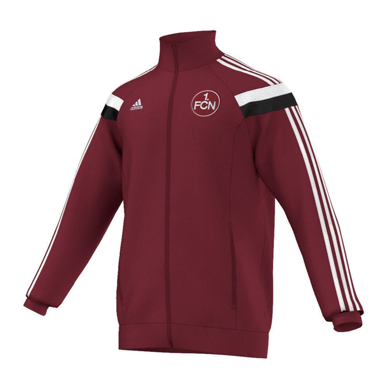 adidas 1 fc n rnberg anthem track jacket fan hymnen jacke. Black Bedroom Furniture Sets. Home Design Ideas