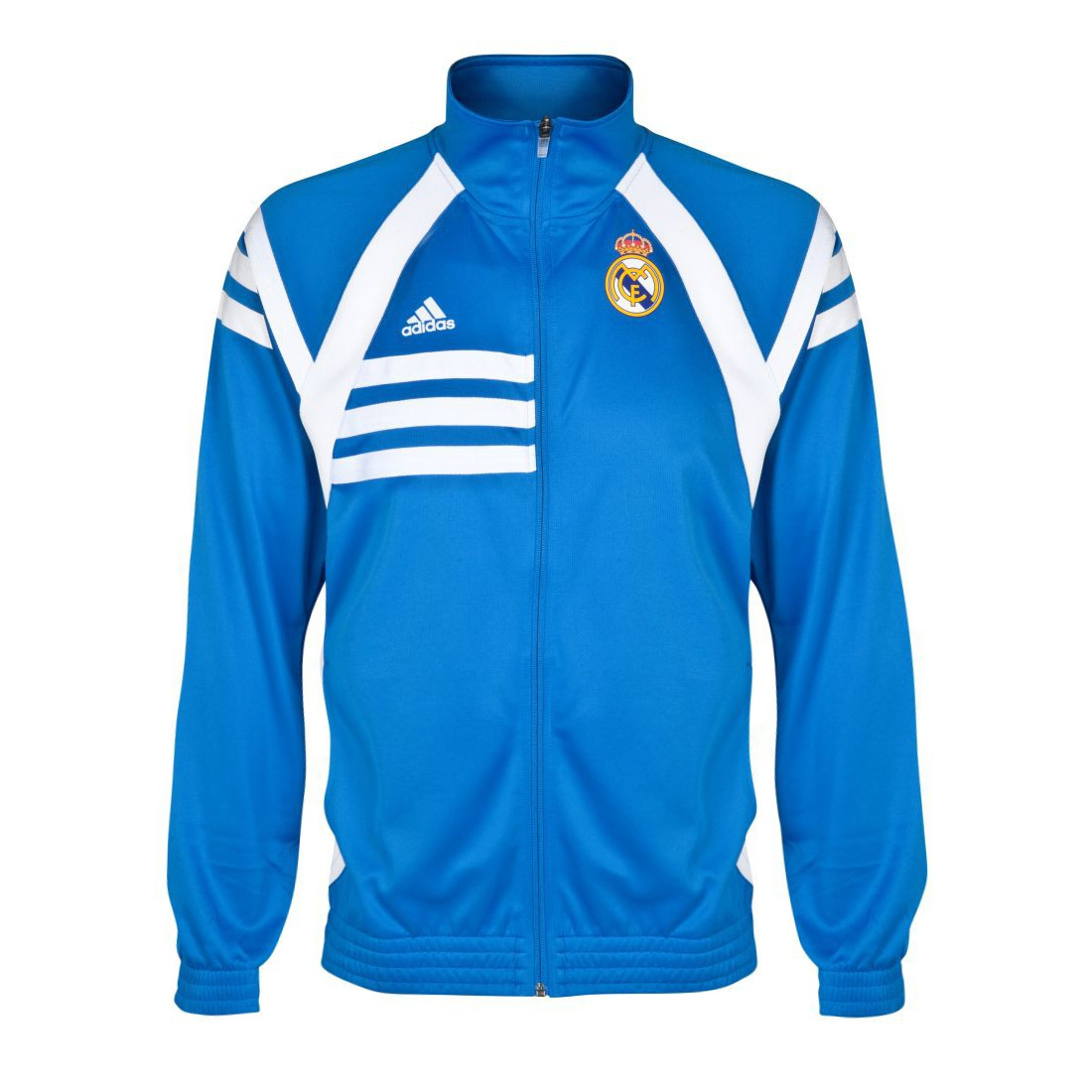 adidas real madrid tracktop track suit top jacket jersey. Black Bedroom Furniture Sets. Home Design Ideas