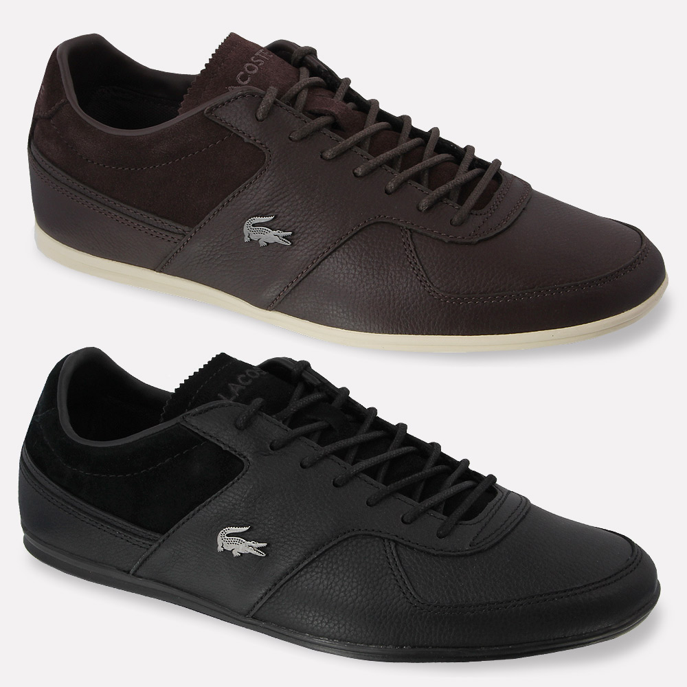 mens lacoste shoes taloire 13 srm sneakers genuine leather athletic shoes ebay. Black Bedroom Furniture Sets. Home Design Ideas