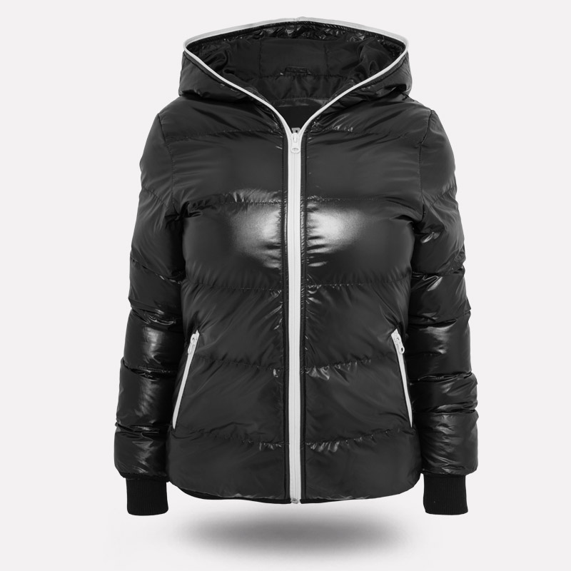 Urban Classics Women Shiny Bubble Winter Quilted Jacket Bombers Xs ...