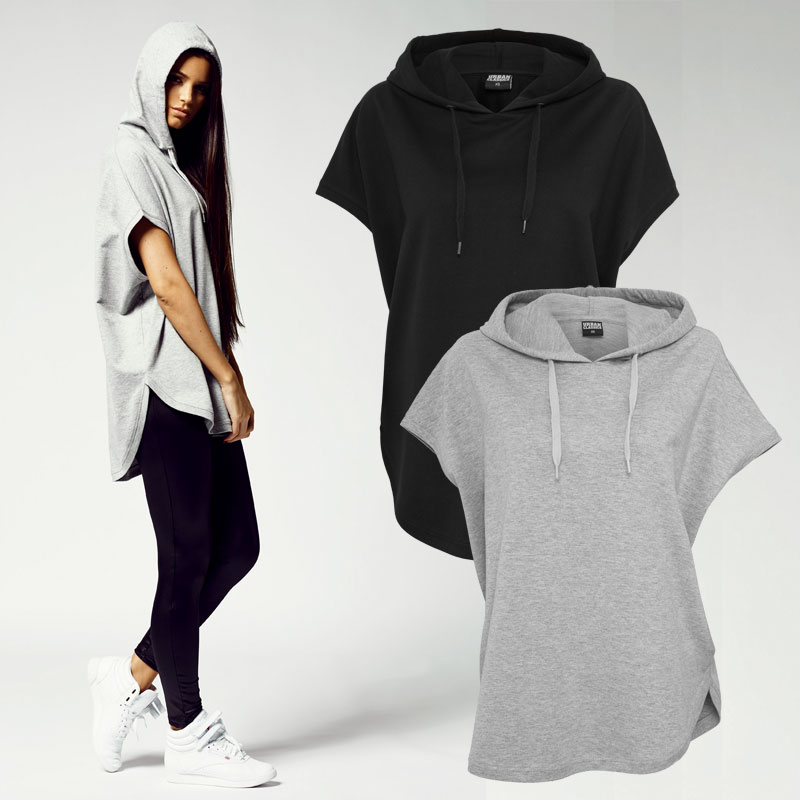 urban classics ladies sans manches terry femmes sweat capuche veste tb931 ebay. Black Bedroom Furniture Sets. Home Design Ideas