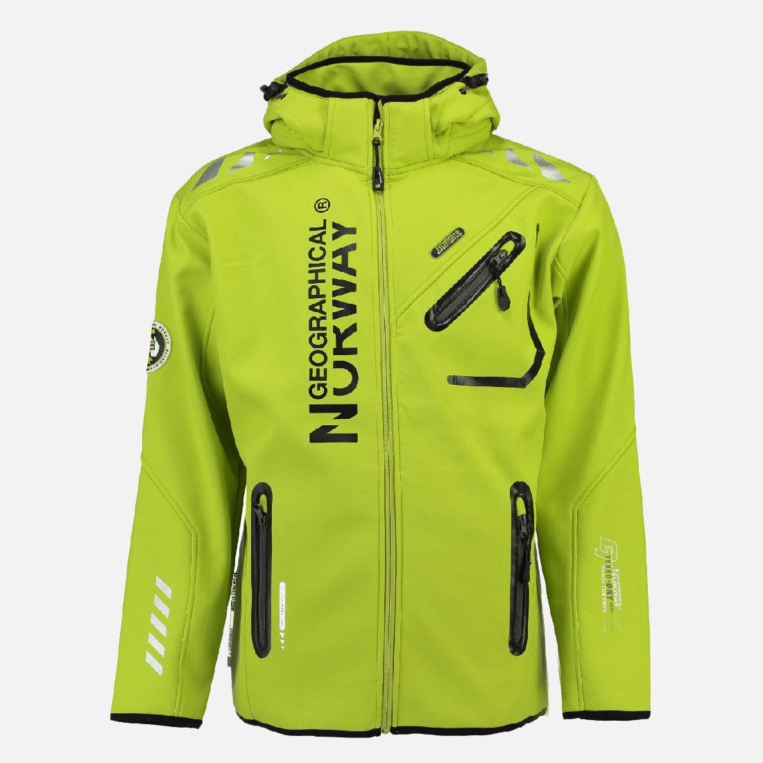 Details zu Geographical Norway Rainman Herren Softshell Regen Jacke Softshelljacke S XXL