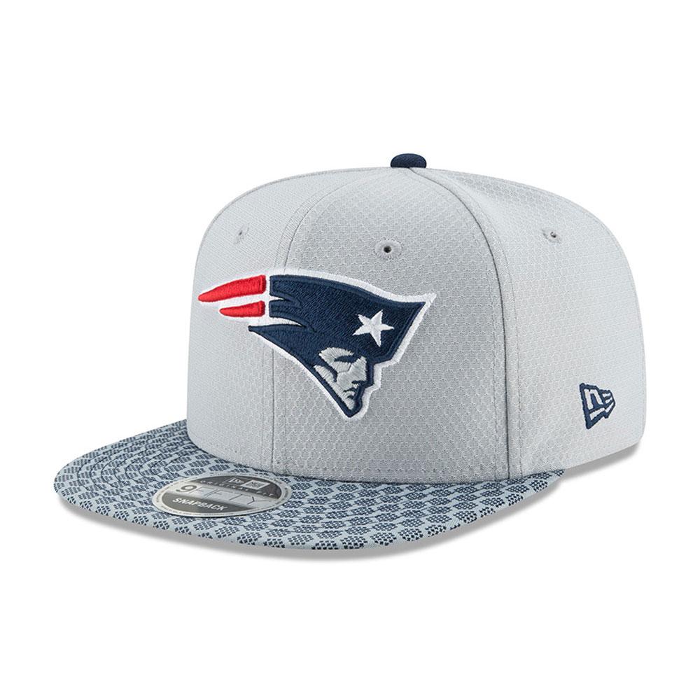 NEW ERA CAP 9FIFTY Snapback NFL Sideline 2017 Seahawks Patriots ... 54291edf2608