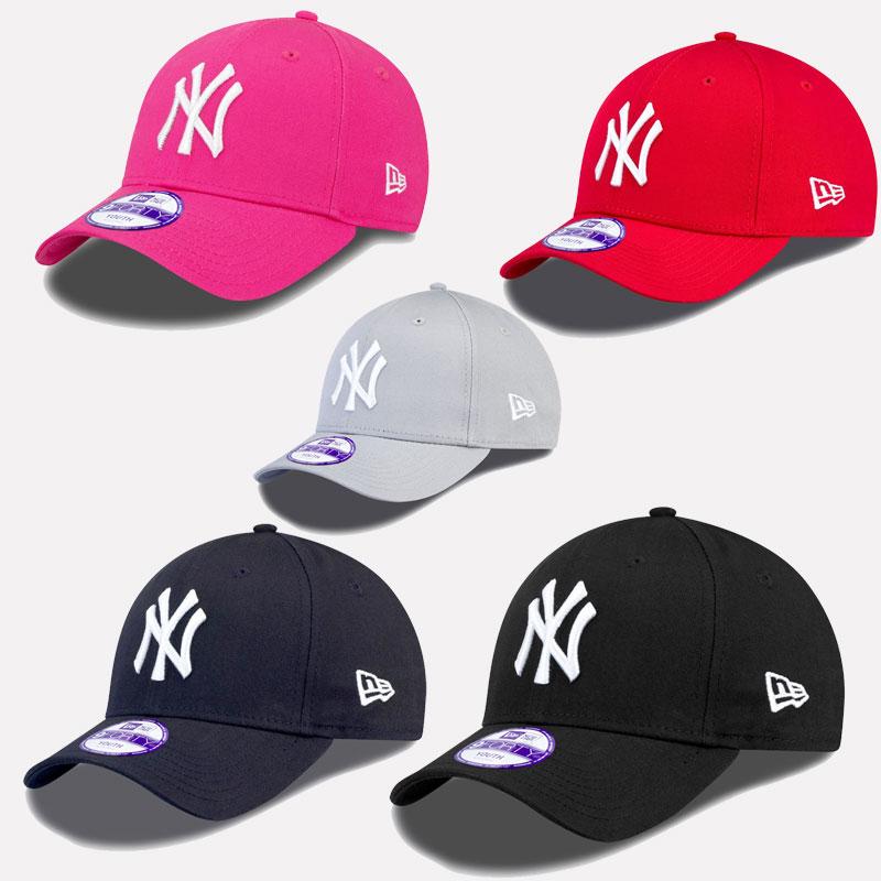 NEW ERA MLB 9FORTY KINDER JUGENDLICHE CAP NEW YORK YANKEES BASEBALL ... 0e7afb5a1ca
