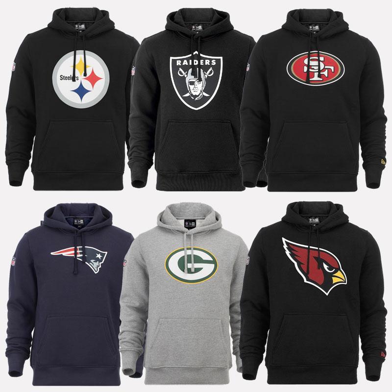 New Era Cap NFL Hoody New England Patriots Packers Falcons ... 4ecf39ff7a1