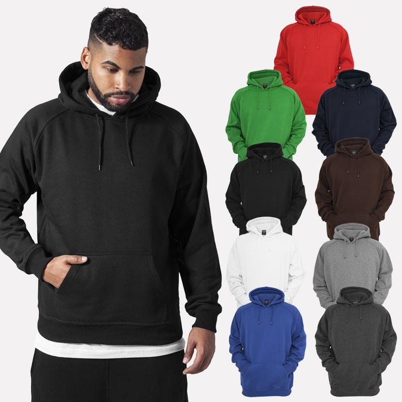 89d351003 Details about Urban Classics Blank Hoody Sweater Hoodie Sweatshirt Club  Sports FITNESS S - 5XL