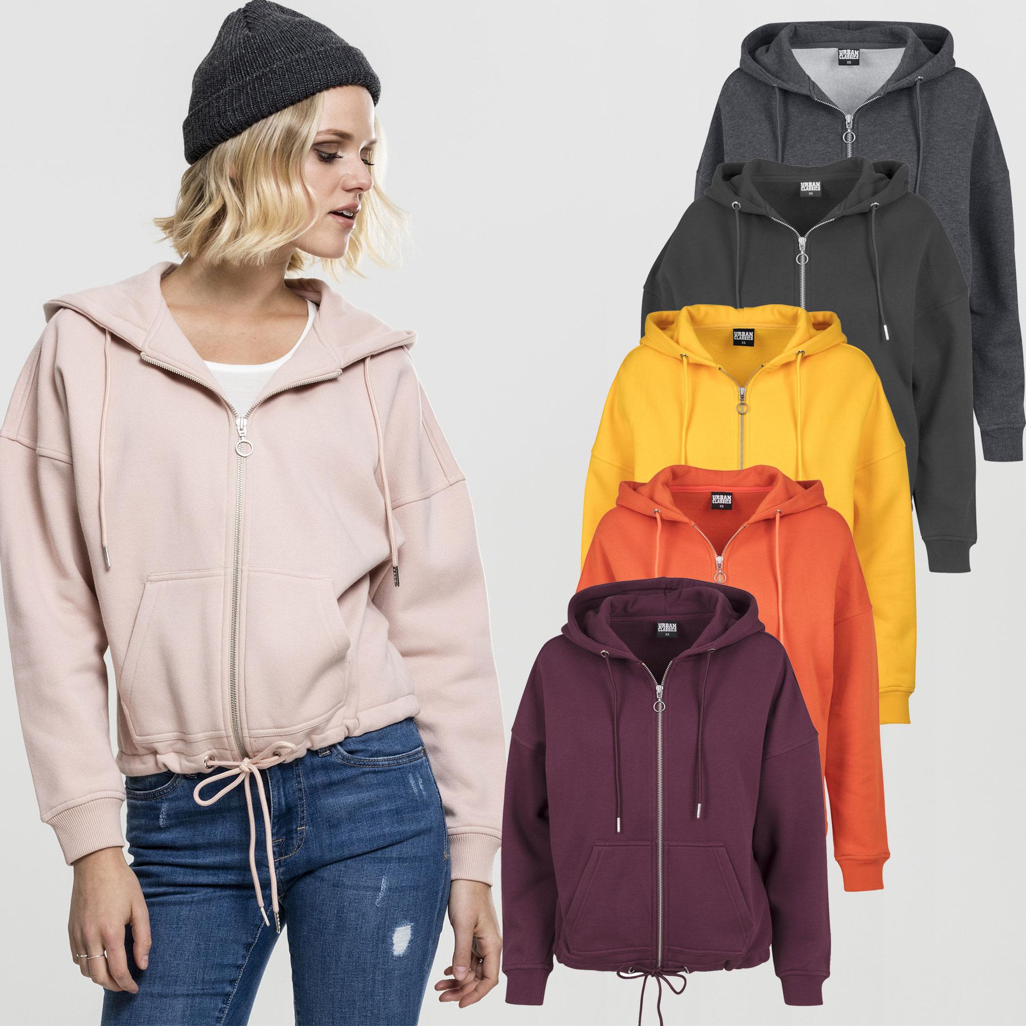 Classics Women's Details Hoody About Ladies Kimono Sweat Box Urban Zip Hoodie Tb1726 Jacket hCQtsrdx