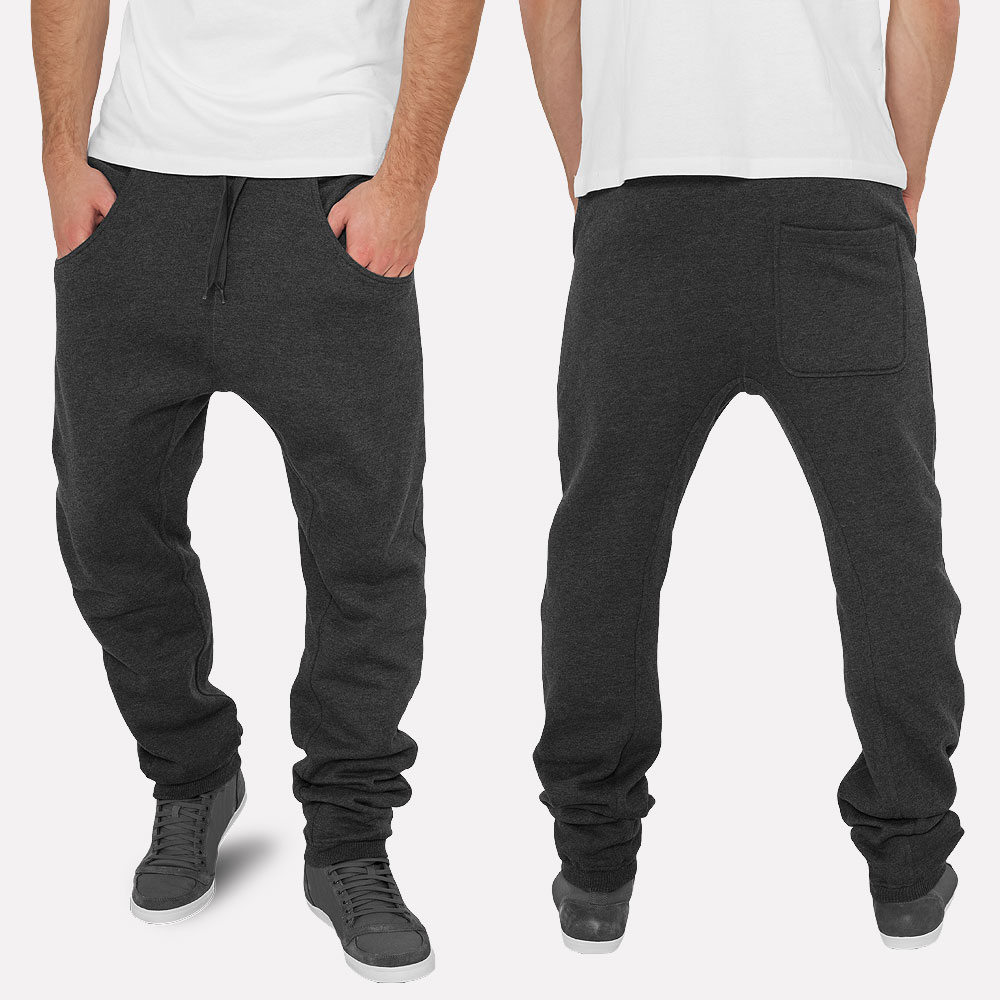 Details zu URBAN CLASSICS DEEP CROTCH SWEATPANTS TRAININGSHOSE SPORT HOSE PANT BAGGY XS XL