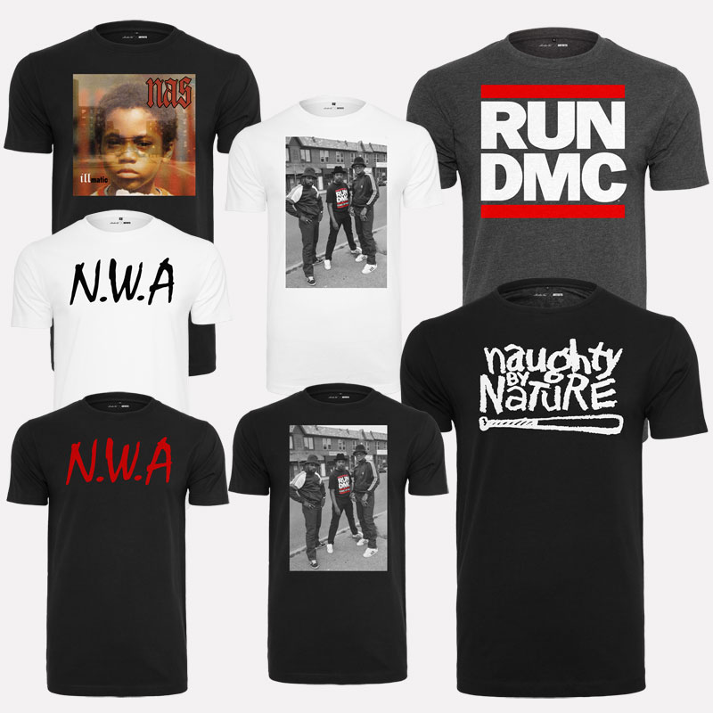 Mister Tee Compton Logo Nwa T-Shirt Hip Hop Run DMC Naughty by ... 9b45ea4a9c